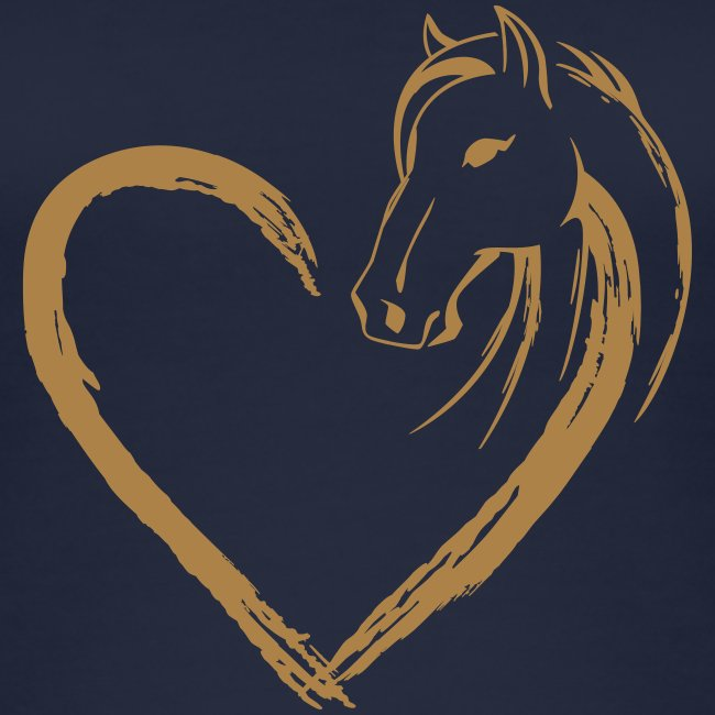 Vorschau: Pferde Herz - Frauen Bio Tank Top von Stanley & Stella