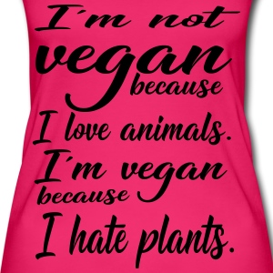 Vegan from plant hassle - Women's Organic Tank Top