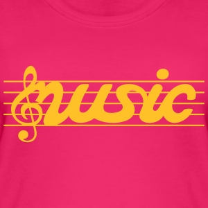 Music music - Women's Organic Tank Top