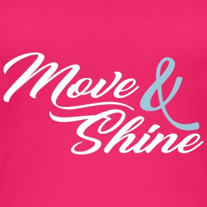 Move and Shine - Sportmotiv - Women's Organic Tank Top