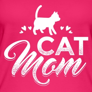 KATZE CAT MOM W - Frauen Bio Tank Top