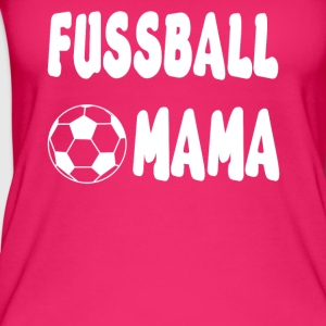Fussball Mama Shirt - Frauen Bio Tank Top