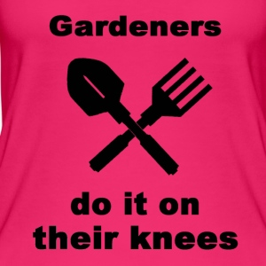 Gardeners Do It On Their Knees - Women's Organic Tank Top