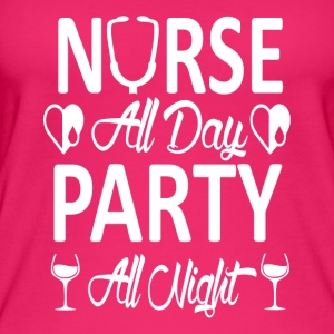 Party Nurse - Vrouwen bio tank top