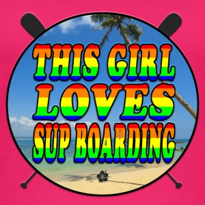 SUP BOARDING LOVE - Frauen Bio Tank Top