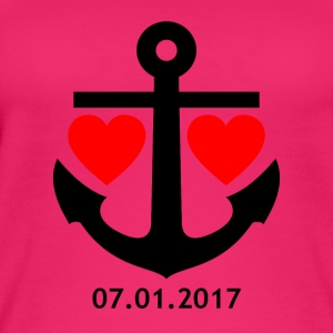 01/07/2017 envelope relationship shirt / mug / bag / - Women's Organic Tank Top
