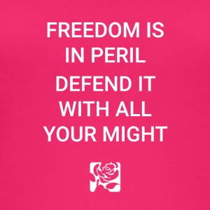 Freedom Is In Peril - Women's Organic Tank Top