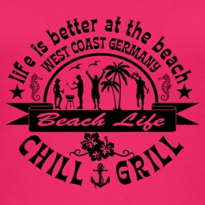 Chill Grill West Coast - Naisten luomutoppi