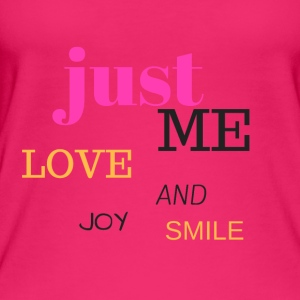 JUST ME, LOVE, JOY AND SMILE - Women's Organic Tank Top