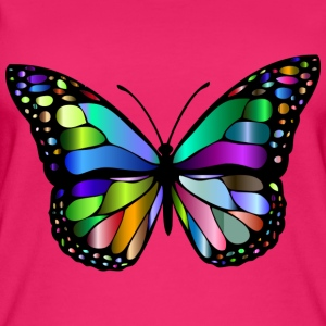 Colorful butterfly - Women's Organic Tank Top
