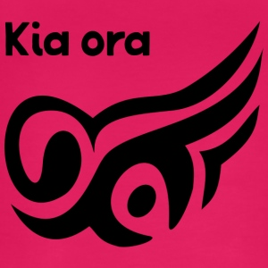 New Zealand Kia Ora - Øko-singlet for kvinner