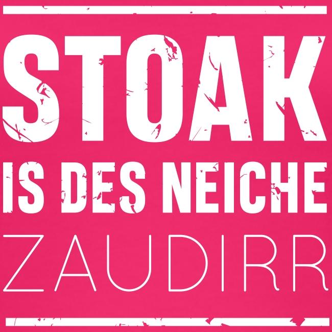 Vorschau: Stoak is des neiche zaudirr - Frauen Bio Tank Top von Stanley & Stella