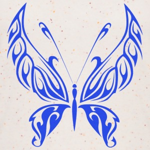 Butterfly Tribal blue - Women's Organic Tank Top