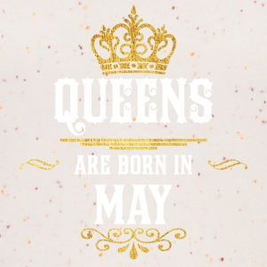 Queens Born May - Vrouwen bio tank top