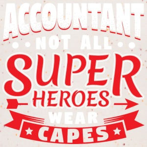 NOT ALL SUPERHEROES WEAR CAPES - ACCOUNTANT - Women's Organic Tank Top
