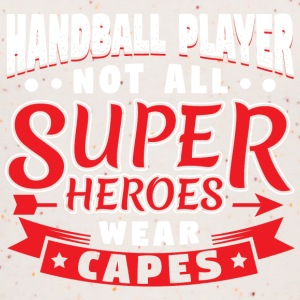 NOT ALL SUPERHEROES WEAR CAPES - HANDBALL - Women's Organic Tank Top