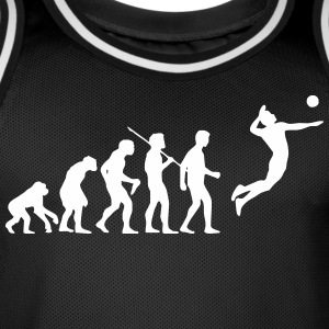 volleyball evolution - Men's Basketball Jersey