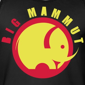 BIG MAMMOTH - Herre basketball-trikot