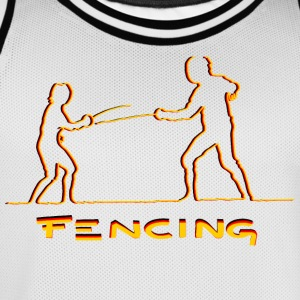 FENCING - Men's Basketball Jersey