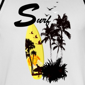 SURF - Mannen basketbal shirt