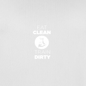 Eat Clean Train Dirty - Men's Basketball Jersey