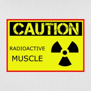 Caution Radioactive Muscle - Men's Basketball Jersey