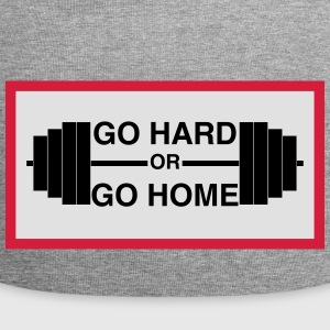 Go Hard or Go Home - Jersey Beanie