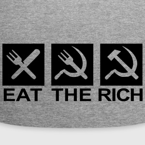 Eat the rich - Jersey Beanie