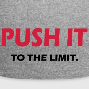 PUSH IT TO THE LIMIT - SIMPLE - Jersey Beanie
