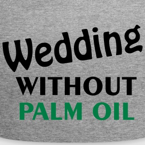 wedding without palm oil - Beanie in jersey