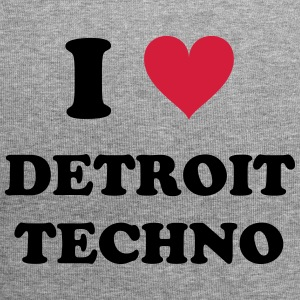 I LOVE DETROIT TECHNO - Jersey-Beanie