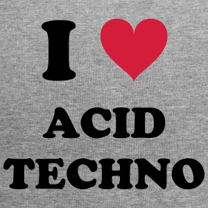 I LOVE ACID TECHNO - Jersey-Beanie