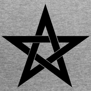 Pentagram, pentacle, magic, symbol, witchcraft - Jersey Beanie