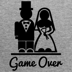 T-shirt Game Over. I'm married. - Jersey Beanie