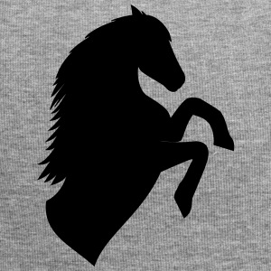 Horse Silhouette - Jersey-Beanie