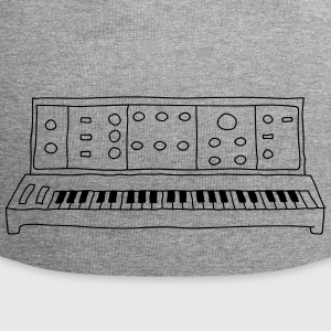 analoge synthesizer - Jersey-Beanie