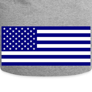American_flag_blue1 - Beanie in jersey