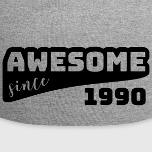 Awesome siden 1990 / Birthday-Shirt - Jersey-beanie