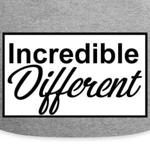 icredibledifferent_logo - Bonnet en jersey