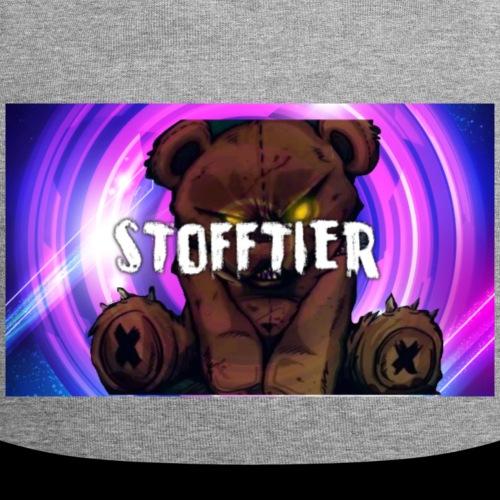 Stofftier Rave War Mütze - Jersey-Beanie
