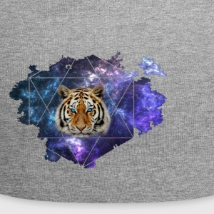 Galaxy Tiger - Beanie in jersey