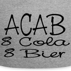ACAB - eight Cola eight beer - Jersey Beanie