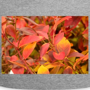 Flaming feuilles rouges. - Bonnet en jersey