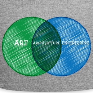 Architect / Architecture: Art, Architecture, - Jersey Beanie