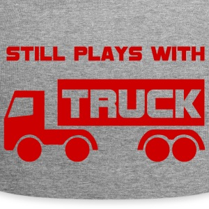 Mechanic: Still plays with Truck. - Jersey Beanie