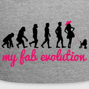 Hund / Pudel: My Fab Evolution - Jersey-Beanie