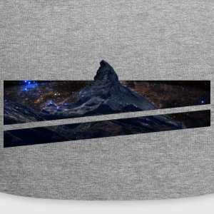 Mountains in space - Jersey Beanie
