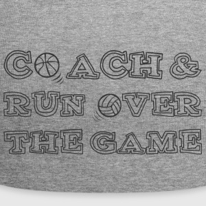 Trener / coach: Coach & Run Over The Game - Czapka krasnal z dżerseju