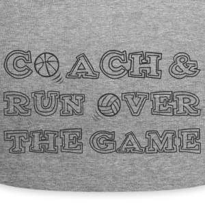 Coach / Trainer: Coach & run Over The Game - Jersey-Beanie