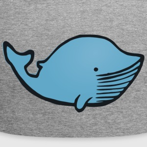 whale48 - Beanie in jersey